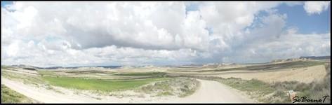 Panorama du désert