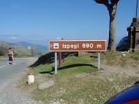 Col d'Izpegi 690 m