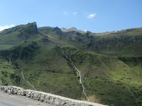 Descente du col du Tourmalet