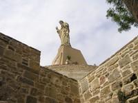 Donostia San Sébastian- Sacré coeur de Jésus au Mont Urgull