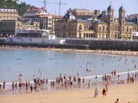 Donostia San Sébastian - plage
