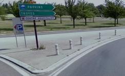 Départ Provins, Direction Troyes-D619