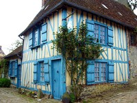 La maison typique du village  (source du net)