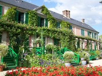 La maison de Claude Monet à Giverny (source du net)