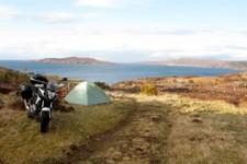 Camping sauvage dans la baie de Gruinard