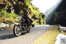 Royal enfield moto en inde