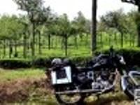 Voyage moto l'Inde du sud.