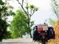 Aventure moto en Himalaya.