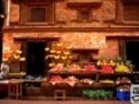 marché à  kathmandou