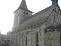 L'église de Riom-és-Montagne