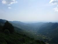l'Ardèche vue du col de Meyrand