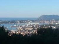 Toulon depuis Mont Faron