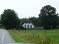Une ferme traditionelle pour la région