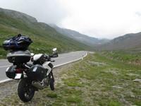 Avant le Passo di Rombo (côté Autriche)