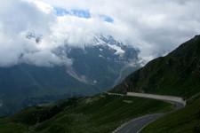 En redescendant du col de Hochtor vers le nord (Grossglockner, Autriche)
