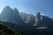 Passo di Gardena (Dolomites, Italie)