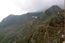 Juste après le Passo di Rombo (versant italien)