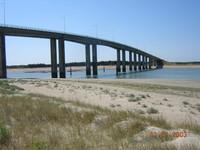 Pont de l'Ile pour rejoindre le continent.
