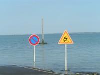 Passage du Gois (marée haute)