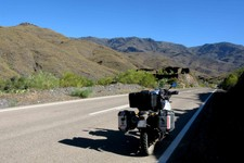 Route Tabernas -> Velefique, Andalousie