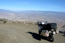 Piste sur crête Sierra Alhamilla, Andalousie