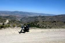 Sierra de los Filabres, sud de Alcontar, Andalousie