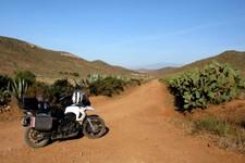 Piste des mines abandonnées de Rodalquilar, Andalousie