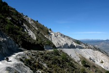 Piste Sierra Nevada, nord est de Durcal, Andalousie