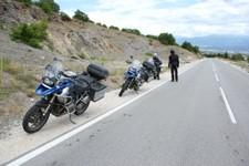 avant le frontière avec Macédoine