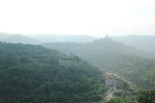 vu sur les ruine de Veliko Tarnovo