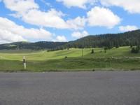 Mont Tendre  vu du dernier replat avant le Marchairuz