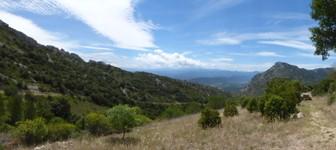 8- vue sur les Pyrénées