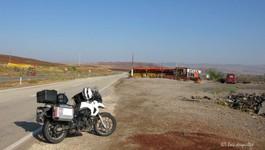 Sur la route vers Ankara, Delice (Turquie)