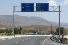 Gürpinar, embranchement vers le sud est, vers l'Iran (Turquie)