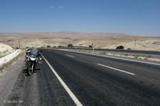 Montée sur le plateau anatolien, vers Gürün (Turquie)