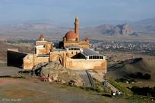 Le Palais d'Ishak Pasa, sur la route de la soie, Dogubayazit (Turquie)
