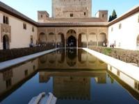 Alhambra Pièce d'eau GRANADA