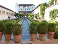 Alhambra Jardin d'été GRANADA