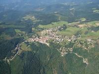 Lalouvesc (vue aérienne)