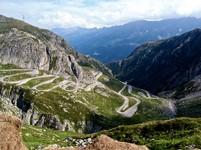 Tremolo St Gotthard pass