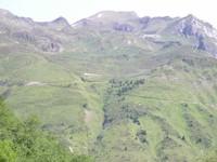 La montée vers le Tourmalet