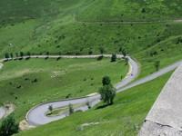 Descente du col de Peyresourde vers Bagnères-de-Luchon