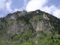 Vue depuis la montée du Tourmalet