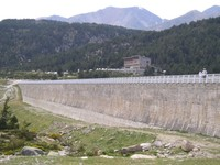 Barrage du lac des Bouillouses