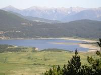 Le lac de Matemale depuis Les Angles
