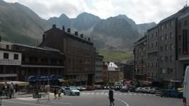 Arrivée en Andorre.