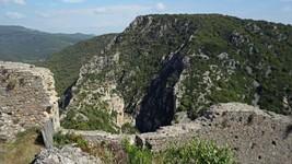 Vue depuis le château de Termes.