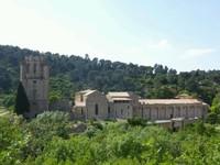 L'abbaye Saint Marie de Lagrasse