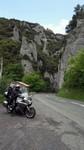 L'entrée sud des gorges de Saint-Georges.
