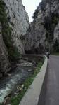 L'Aude dans les gorges de Saint-Georges.